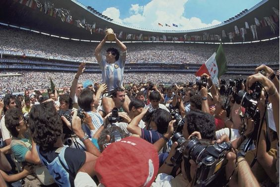 Diego Campeon Mundial... Mexico 1986