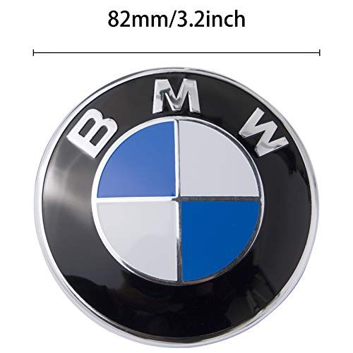 Emblem Logo Replacement For All Models Bmw Hood Trunk E30 E36 E34 E60 E65 E38 X3 X5 X6 3 4 5 6 7 8 82mm En 2020 Voiture