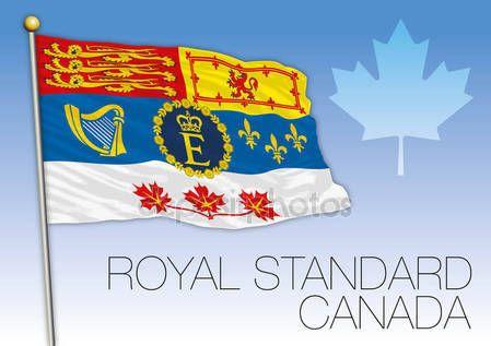 The Royal Standard Of Canada Royal Standard Flag Flag Flag Signs