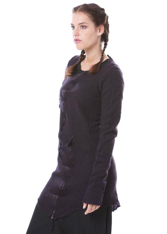 Pullover mit Kaschmir von RUNDHOLZ DIP http://dagmarfischermode.de #rundholz #dip #designer #german #fashion #style #stylish #styles #outfit #shopping #lagenlook  #dagmarfischermode #shop #outfit #cool #autumn #fall #winter #mode #extravagant
