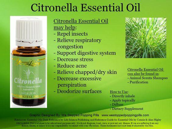 Citronella Essential Oil www.westoppedpoppingpills.com