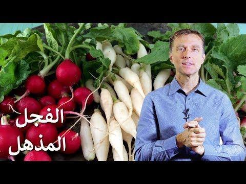 فوائد الفجل المذهلة دكتور بيرج Youtube Healthy Living Healthy Vegetables