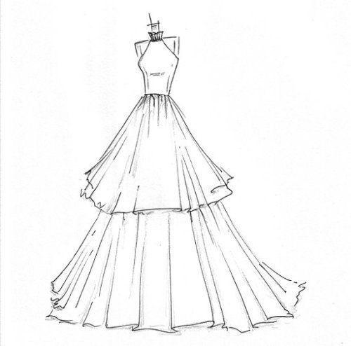 43++ Sketch of dress ideas