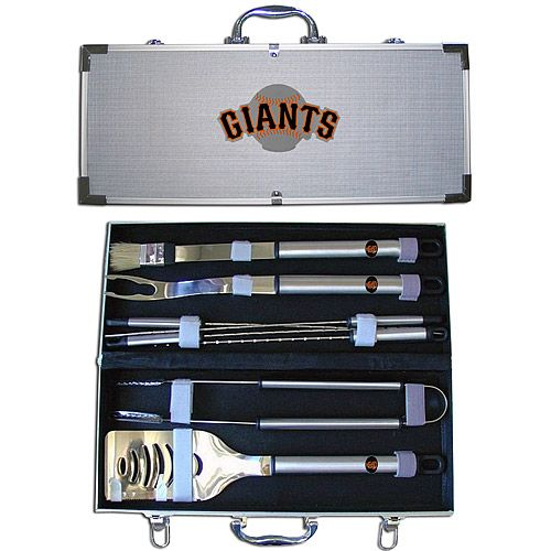 San Francisco Giants Deluxe BBQ Set - MLB.com Shop