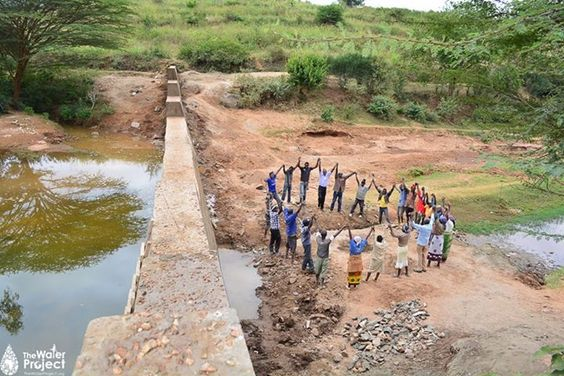 Wow, what a spectacular photo from a new sand dam in Kenya. The joy you bring through clean water is amazing! #stickypoop #poopemoji #funny #love #fashion #minions #quotes #charity