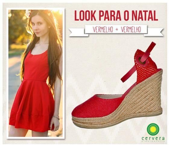 Para as mais tradicionais, a dica é apostar no look vermelho. <3