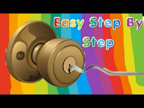 How To Pick A Lock With A Paper Clip Youtube Paper Clip Lock Paper