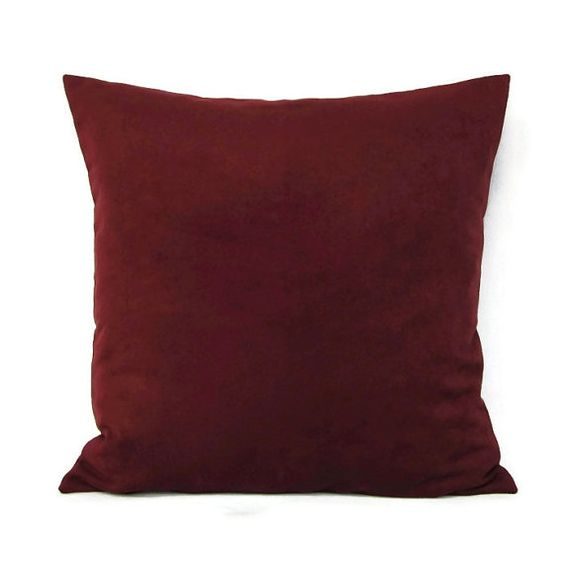 Burgundy Plaid Throw Pillows : Home, Leather texture and Throw pillows on Pinterest