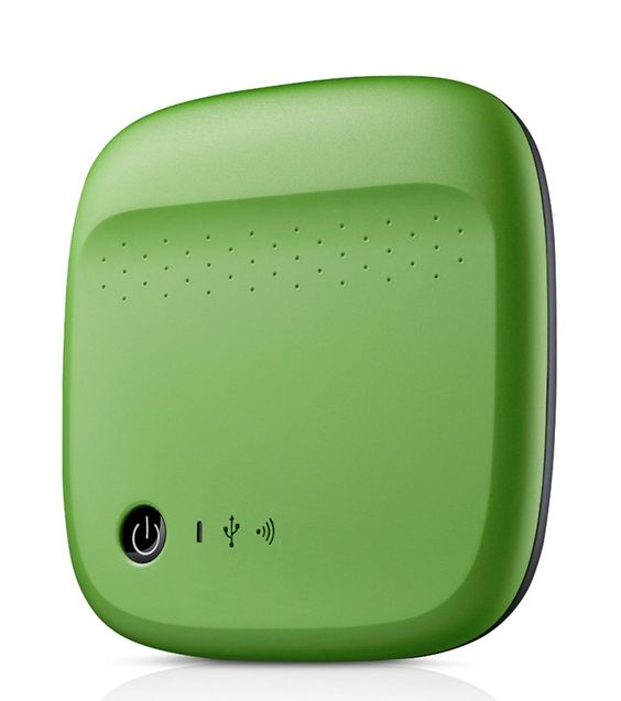 Seagate Wireless Mobile Portable Hard Drive Storage