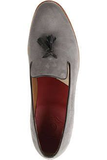 GRENSON Marsell suede loafers