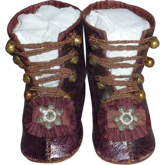 Maravilloso retrato Jumeau Boots de fireweedgallery en Ruby Lane