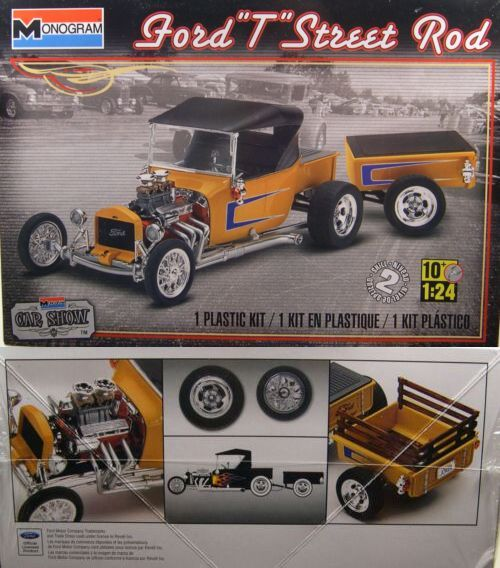 Other Automotive Models And Kits 1190 Model T Ford Street Rod