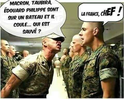 Oui Chef Blague Politique Humour Drole Blague Trop Drole