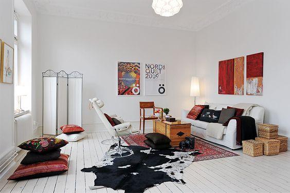 white swedish apartment