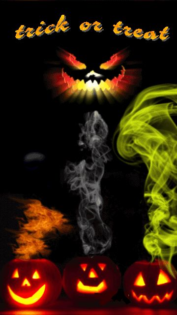 Scary halloween halloween and trick or treat on pinterest - Scary halloween screensavers animated ...