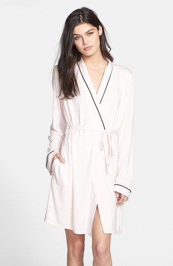 Wildfox 'Room Service, Never Get Dressed' Modal Robe available at #Nordstrom