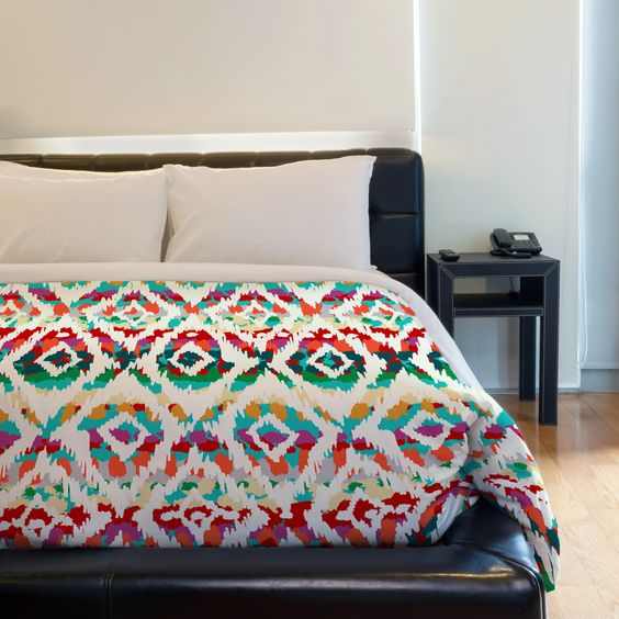 Hella Chella Fleece Duvet Cover