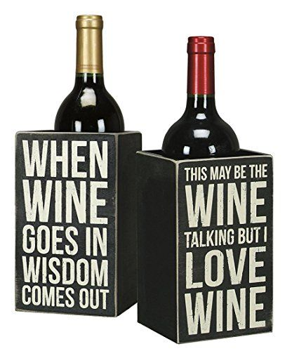 Witty wine gift box