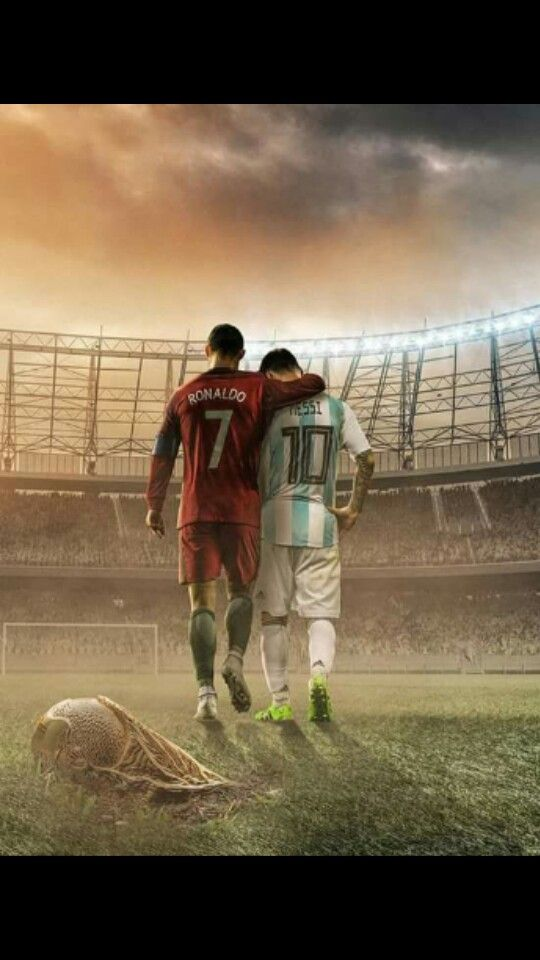 One Era Two Legends Ronaldo Football Messi And Ronaldo Ronaldo Wallpapers