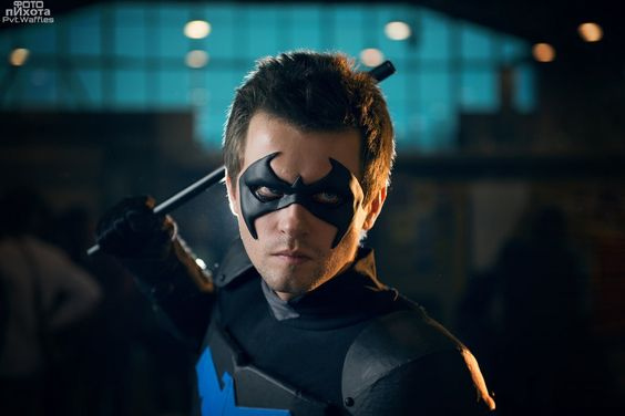 Young Nightwing cosplay from DC Comics, Photo by Pvt-Waffles