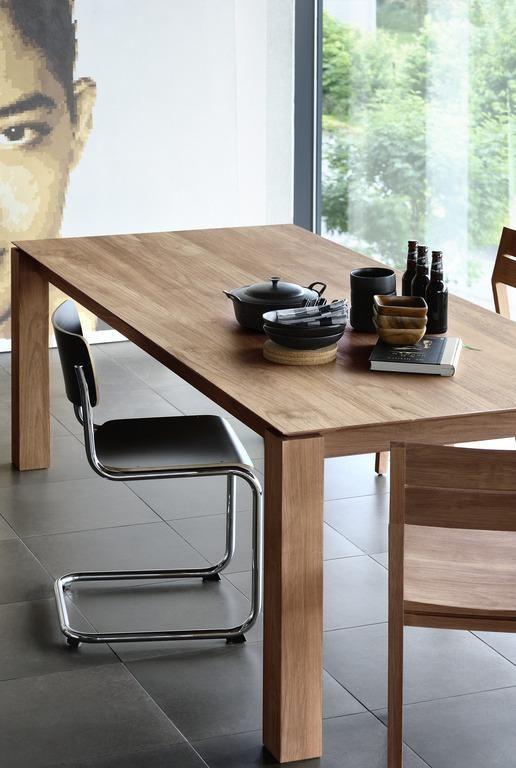 Slice Extendable Dining Table Teak Esstisch Design Tisch