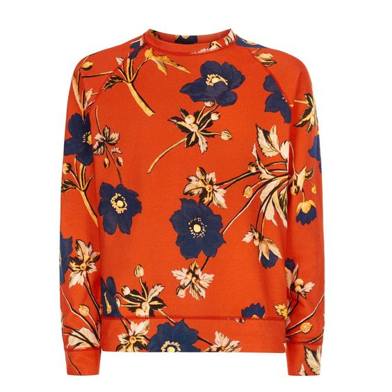 POPPIUM Cotton Sweatshirt - 60's Red  Was £185, now £130 http://www.houseofhackney.com/sale/poppium-cotton-sweatshirt-red.html