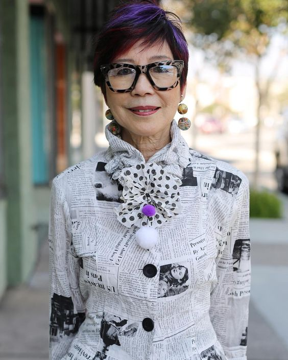 Advanced Style: Purple accents at Koi boutique, South Pasadena