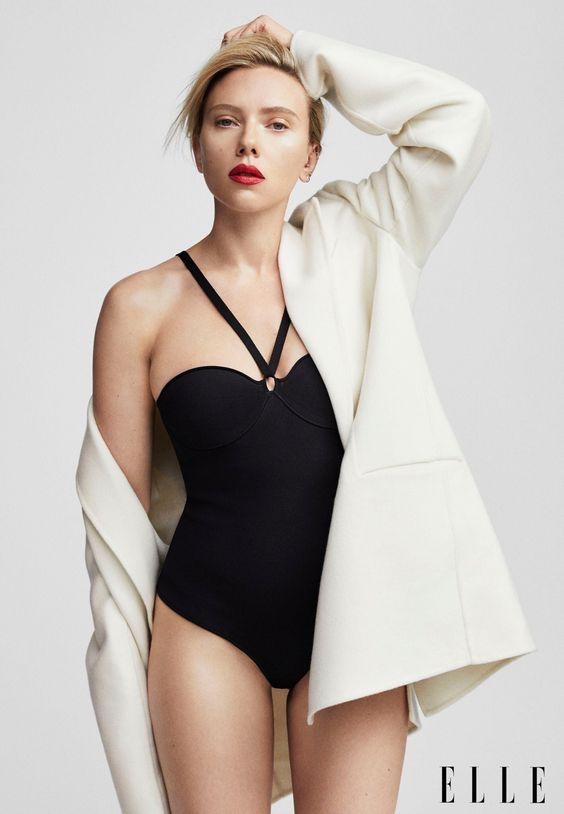 Scarlett Johansson ✾ for ELLEN MAGAZINE