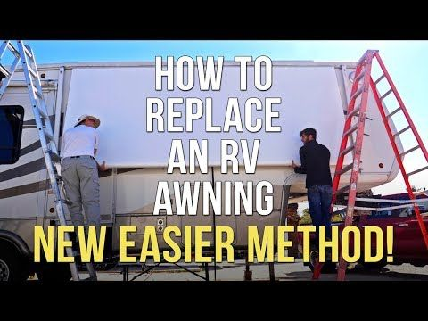 Tough Top Awnings Discount Code Rvgeeks Rock 5 Off This Is A New Easier Way To Replace The Rv Awning Fa Patio Awning Camper Awnings Rv Awning Replacement
