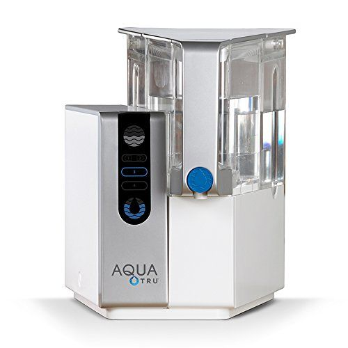 Aquatru Countertop Water Purification System With Exclusi Reverse Osmosis Water Filter Countertop Water Filter Osmosis Water Filter
