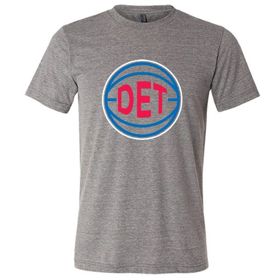 DET Basketball City T-Shirt