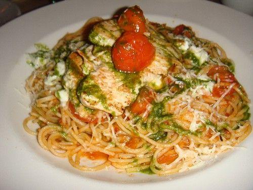Tomato basil pasta noodle recipe