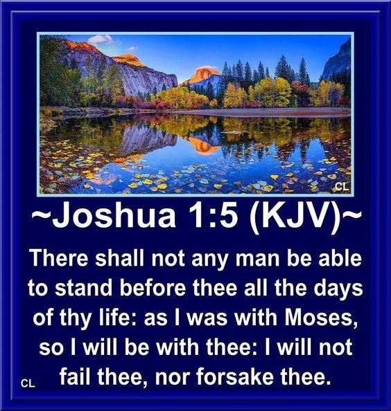 "✝✡Trust in the LORD Jesus-Yeshua  with all thine Heart✡✝ ( Joshua 1:5 KJV ) ""There shall not any man be able to stand before thee all…"