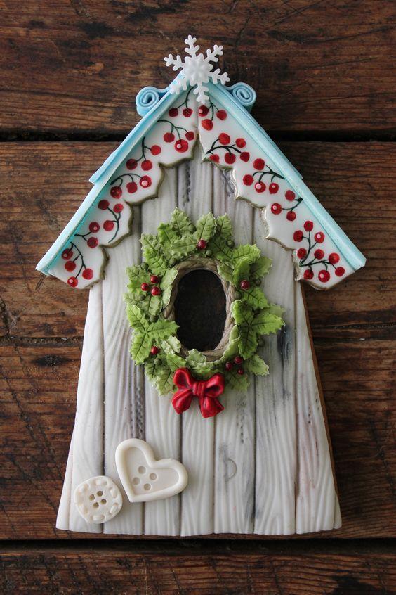 https://flic.kr/p/kc8SiD   Winter birdhouse cookie