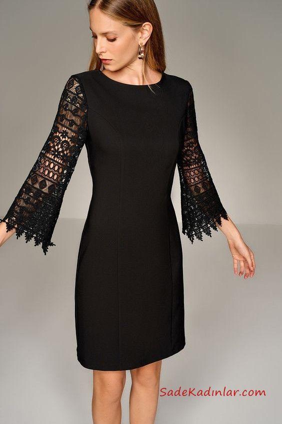 2019 Siyah Dantel Elbise Modelleri Dantel Elbise The Dress Elbise Modelleri