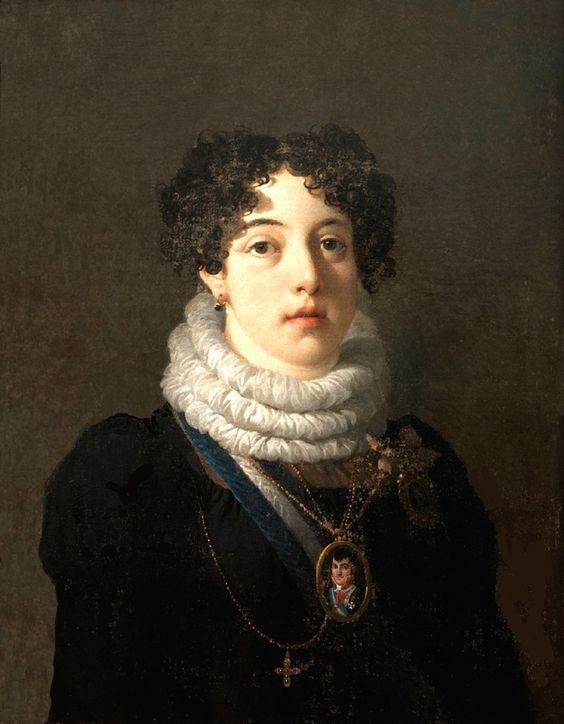Assi de Portugal, Dona María Isabel de Bragança, Rainha de España