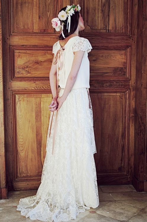 Robes de Mariée : Constance Fournier Collection 2013 wedding dress