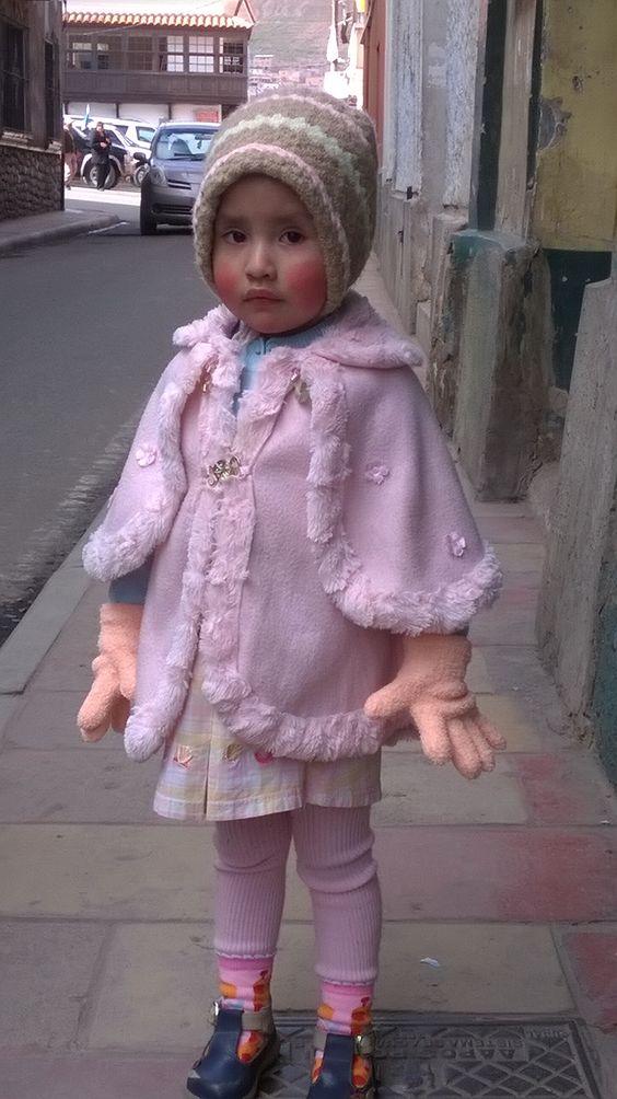 Niñita de Potosí. Bolivia