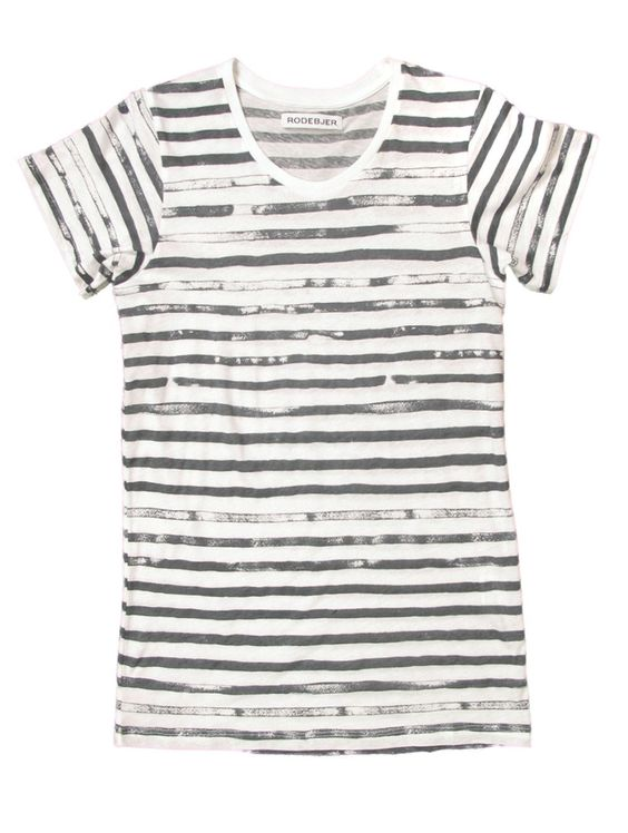 painterly stripe shirt from RodeBjer $95