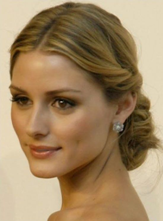 Olivia Palermo Updos For Medium Length Hair Olivia Palermo Hair Hair Styles Medium Length Hair Styles