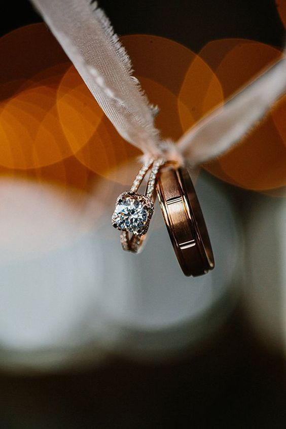 Background Wedding Ring Photography