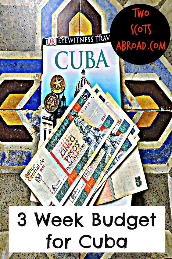 Cuba was far more expensive than we expected. This is our budget breakdown for three weeks - accommodation; transport; food; drink; trips and charges.