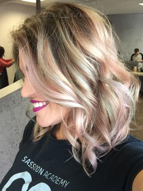 Pastel pravana cotton candy unicorn opal hair!