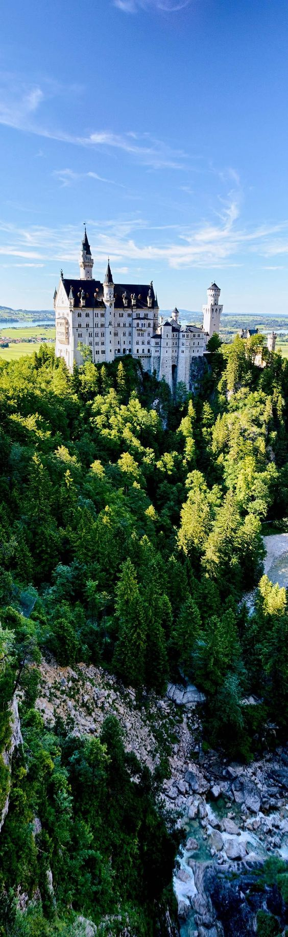 Amazing View of Neuschwanstein Castle, Bavaria, Germany | 23 Fascinating Photos that Will Remind You How Incredible Germany Is