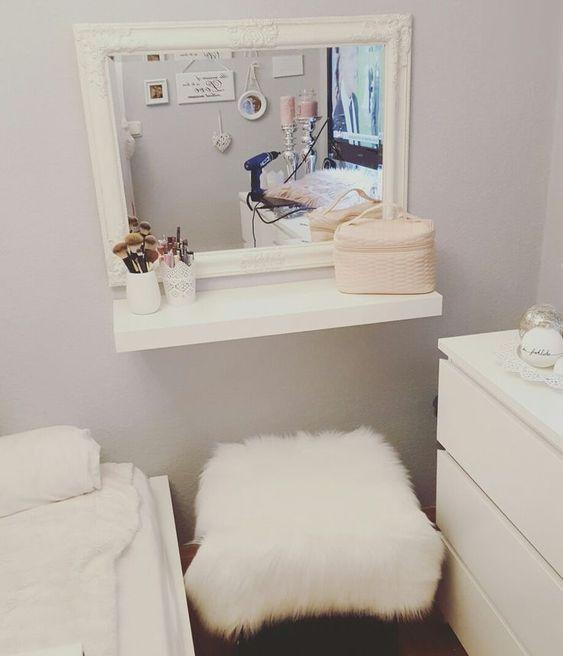 Make-up corner DIY small room - #corner #small - #Genel