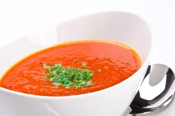 Sopa de Tomate - Sopas Leves