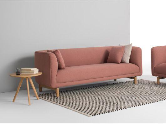 Becca 3 Sitzer Sofa Altrosa 3 Sitzer Sofa Kleines Sofa Sofa