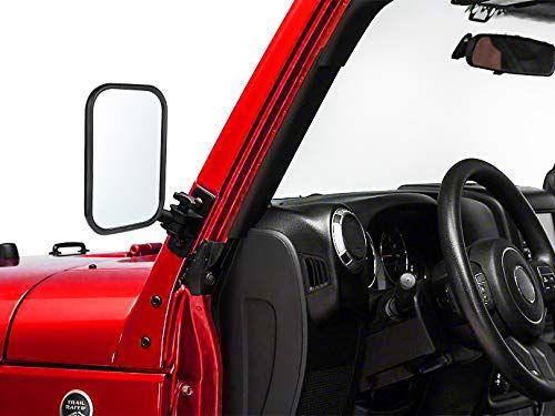 Door Off Mirror For Jeep Wrangler Tj Jk 4x4 Off Road Morror