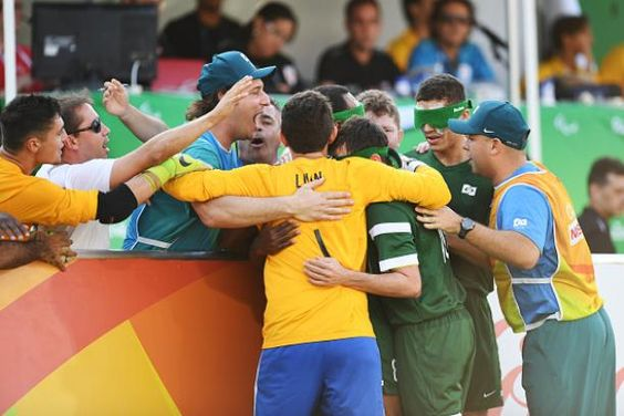 Brazil 5s extend winning streak to claim Paralympic gold 17.09.2016 The Rio 2016 hosts defeated Iran 1-0 in the football 5-a-side final to take title and maintain a 100 per cent record at Paralympic Games - Brazil Football 5-a-Side