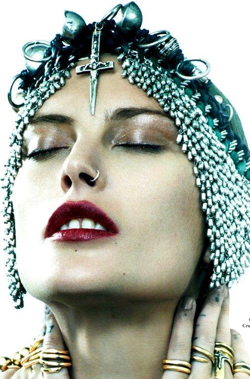 Catherine McNeil by Juan Dreyfus for Britt Bolton Jewelry Lookbook 2016